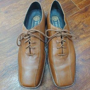 Men's Rockport leather dress shoes size 12 M